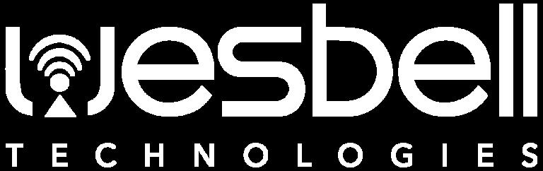 white wesbell icon technologies logo