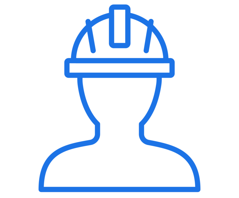 person with a hard hat icon